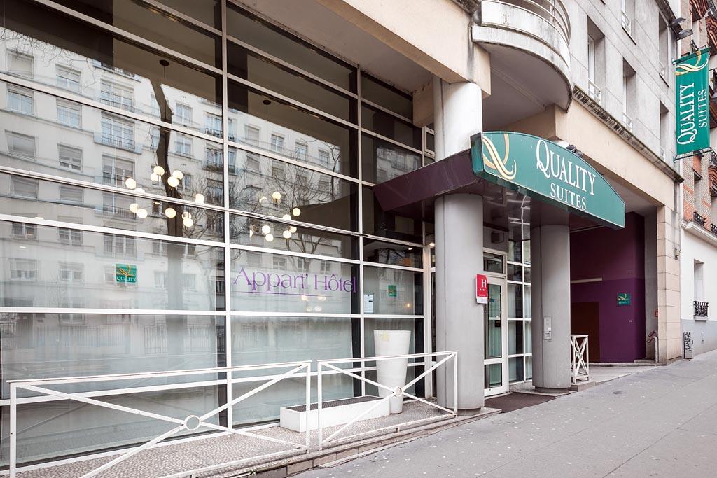 QUALITY HOTEL & SUITES BERCY BIBLIOTHEQUE ***, Paris
