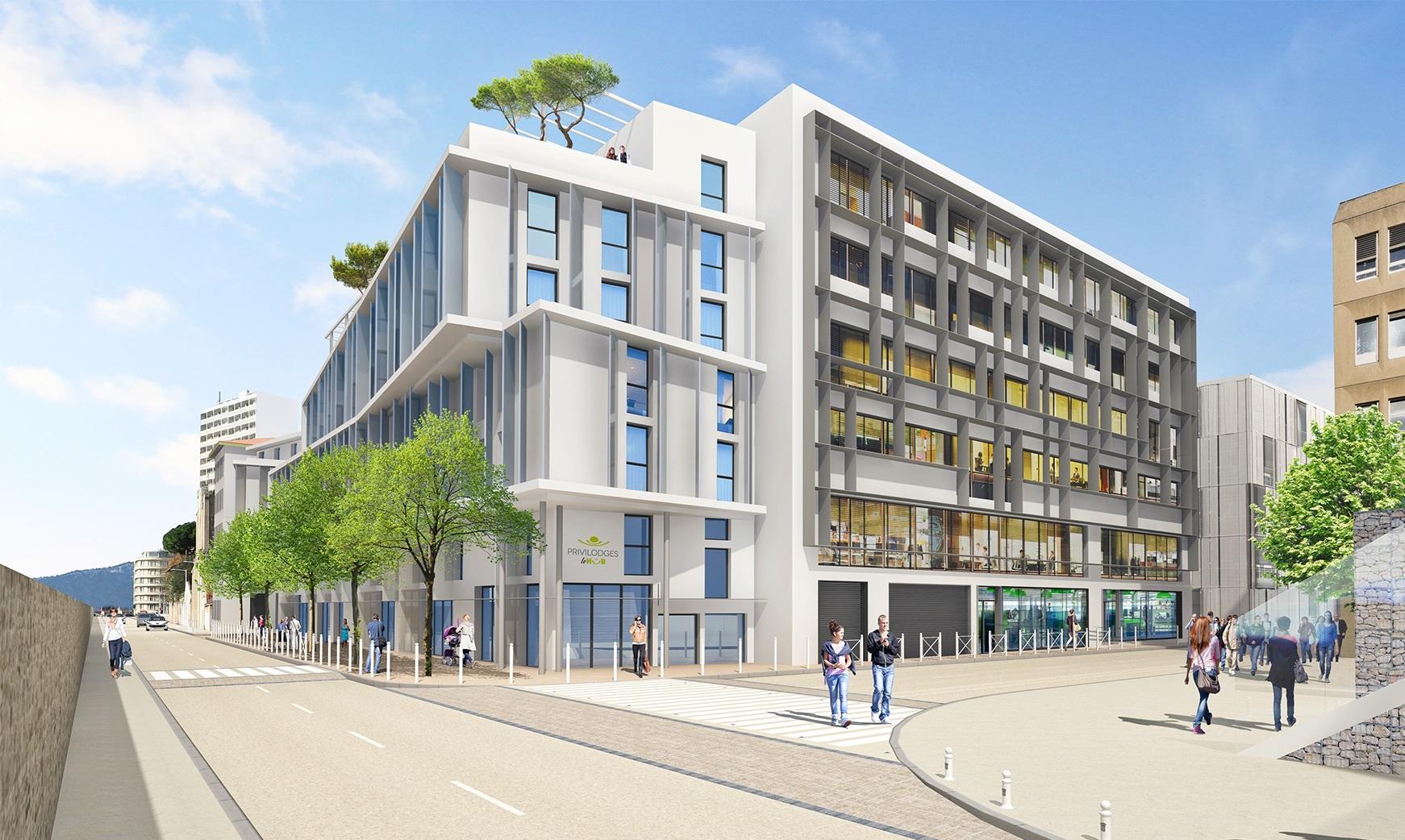 Le Hub , Toulon